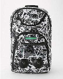 Black Splat Audio Backpack