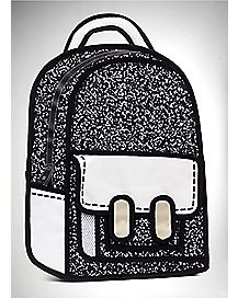 Trompe L'Oeil Composition Book Backpack