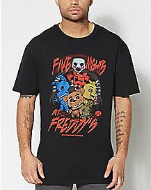 Funko Character Five Nights At Freddy's T Shirt