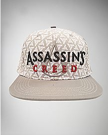 Embroidered Assassins Creed Snapback Hat