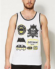 DC Comics Batman Logo Omni Tank Top