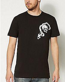 Skull Heavens Sinners T shirt