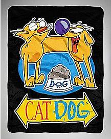 CatDog Nickelodeon Fleece Blanket