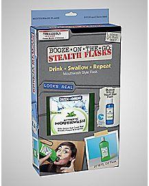 Mouthwash Flask Set