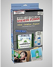 Mouthwash Flask Set - 16 oz
