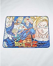 Group Dragonball Z Fleece Blanket