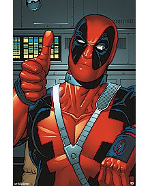 Thumbs Up Deadpool Poster