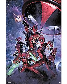 Family Deadpool Poster