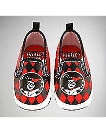 Canvas Harley Quinn DC Comics Baby Shoes