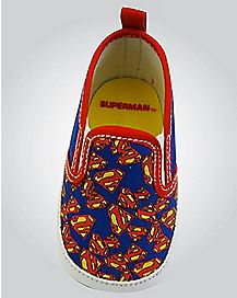 Canvas Superman DC Comics Baby Shoes