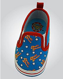 Canvas Wonder Woman DC Comics Baby Shoes