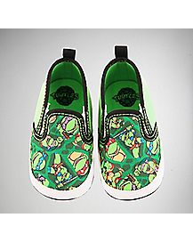 Canvas TMNT Baby Shoes