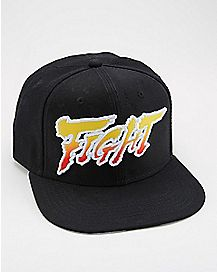 Fight Street Fighter Snapback Hat