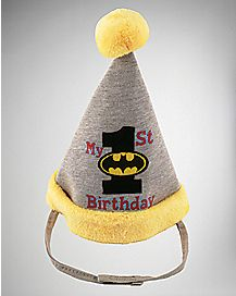 1st Birthday Batman Hat