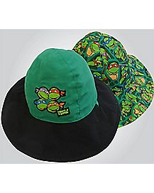 Reversible Bucket Baby Hat - TMNT