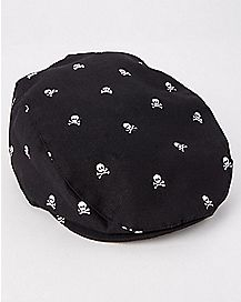 Skull Cabbie Hat