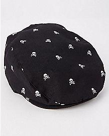 Skull Cabbie Hat