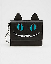 Cheshire Cat Alice In Wonderland Trifold Wallet