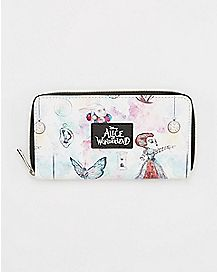 Alice Through The Looking Glass Zip Wallet