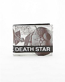 Star Wars Death Star Bifold Wallet - White