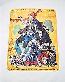 Carnival Black Butler Fleece Blanket