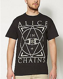 Alice In Chains Geometry T shirt