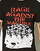 Rage Against The Machine Gas Masks T shirt
