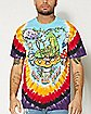 Who Are You Alice In Wonderland Tie Dye T Shirt