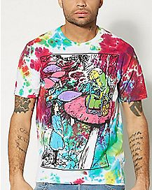 Hookah Alice In Wonderland T Shirt