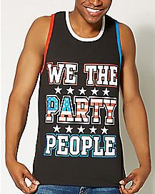 USA We The Party People Tank Top