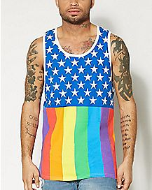 Pride Flag Tank Top