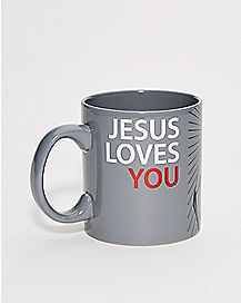 Foil Jesus Asshole Coffee Mug - 20 oz.