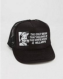 Hillary Bush Trucker Hat
