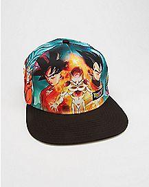 Dragon Ball Z Snapback Hat