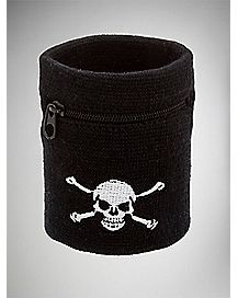 Skull Stash Wrist Band