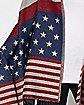 American Flag Poncho