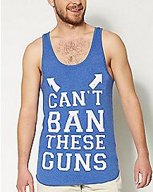 Can't Ban These Guns Tank Top