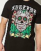 4:20 By Sublime Tattoo Skull T shirt