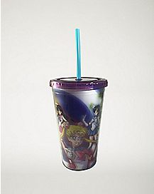 3D Character Sailor Moon Cup With Straw - 16 oz.