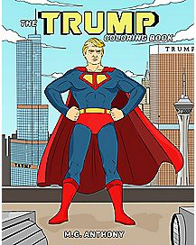 Donald Trump Coloring Book
