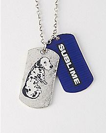 4:20 By Sublime Louie Sublime Dog Tag Necklace