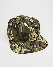 Camo Mandalore Star Wars Snapback Hat