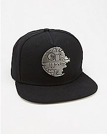 Metal Badge Star Wars Death Star Snapback Hat