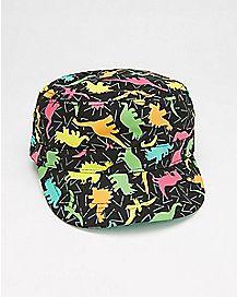 Dinosaur Print Cadet Hat