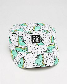 Dope Dinosaur Geometric Cadet Hat