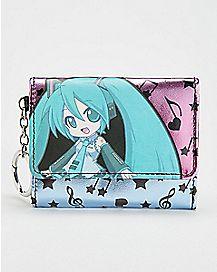 Hatsune Miku Trifold Wallet