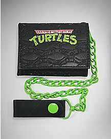 Faces TMNT Trifold Chain Wallet