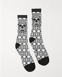4:20 By Sublime Skull Crew Socks
