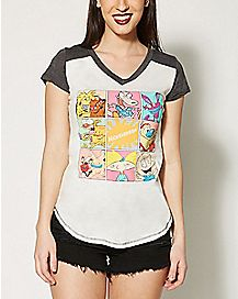 Blocks Nickelodeon Rewind T shirt