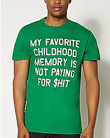 Favorite Childhood Memory T Shirt